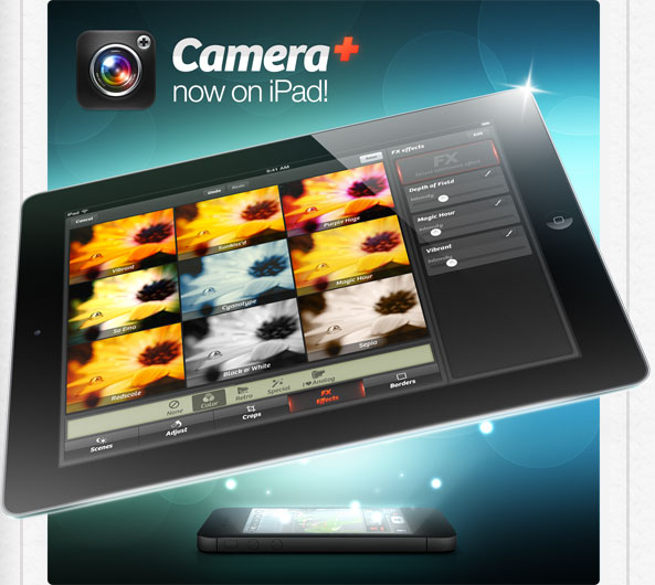 Camera+ for iPad